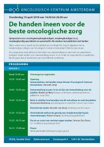 De Handen ineen voor de Beste Oncologische Zorg @ OLVG Locatie Oost | Amsterdam | Noord-Holland | Netherlands