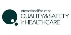 International Forum on QUALITY AND SAFETY IN HEALTHCARE 2019 @ Glasgow SEC Centre