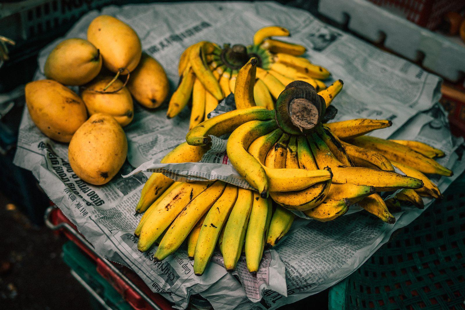 Banaan en mango